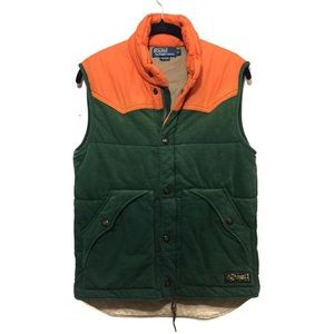 POLO RALPH LAUREN QUILTED VEST JACKET